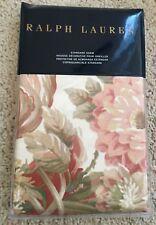 "NWT Ralph Lauren Guinevere Hollywood Cream Floral Print Standard Sham 20"" x 28"""