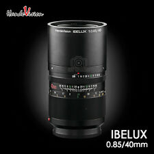 The First publish HandeVision IBELUX 40mm F/0.85 to Canon EOS M camera