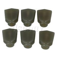 6pcs Guitar Machine Head Knobs Tuner Buttons Electric Guitar Dark Green