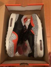 BNIB Nike Air Max 1 Supreme QS US 9 Safari Keep Rippin Atmos 90 270 Off White DS