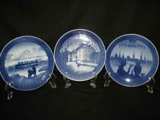 Royal Copenhagen Collector Plates - Three