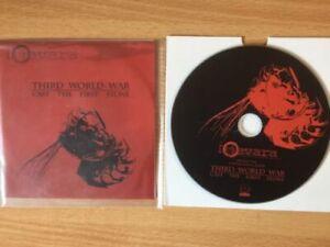 "DJEVARA -""Third World War""- Rare Promo CD-r Acetate 2007 -Post hardcore- NEW"