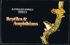 Australian Animals Series II Reptiles & Amphibians Mint Stamps Pack 1982