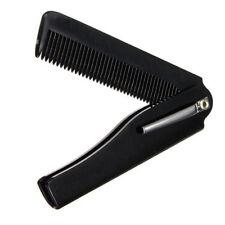 Folding Handmade Mens Fashion Moustache Hair Comb Beard Comb Pocket Clip