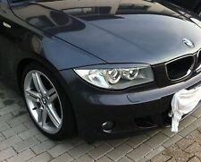 BMW 1er E87 E81 E82 E88 - SCHEINWERFERBLENDEN (ABS) (grundiert) - TUNING-GT