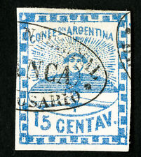 Argentina Stamps # 3 VF Used Scott Value $250.00