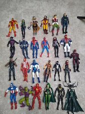 "Amazing Lot of (25) 6"" Marvel Legends & More Mixed Figure Lot Loose Figures"