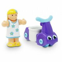 Girl And Ride-On Scooter from WOW TOYS, 10 months+ (30151)