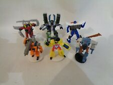 Hasbro 2003 Transformers figures collectable  6cm tall Static models - set of 6
