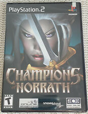 New and Factory Sealed: CHAMPIONS OF NORRATH - Playstation 2 * Y-FOLD SEAL PS2