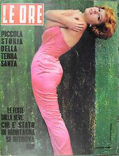 LE ORE ANNO XII° N°1/ 9/GEN/1964 * PICCOLA STORIA DELLA TERRA SANTA *