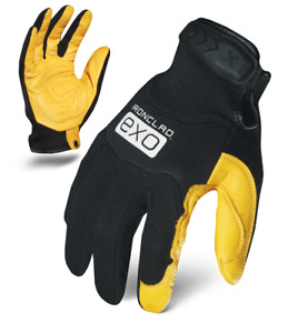 IronClad Gloves EXO2-MPLG Motor Pro Gold Goat Skin Leather - Select Size