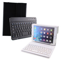 """Leather Bluetooth 3.0 Keyboard Case Cover For 7"""" 8"""" 7.9"""" inch ipad mini Tablet"""