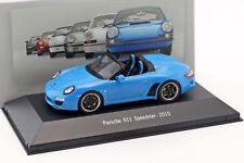Porsche 911 (997) Speedster Año Fabricación 2010 Azul 1:43 Atlas