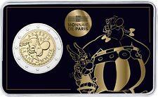 Frankreich 2 Euro 2019 Asterix und Obelix Stempelglanz Gedenkmünze in Coincard