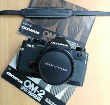 Olympus OM-2 Spot Program  with Zuiko 50mm F1.8 lens, fully working