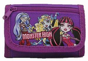 Monster High Tri-Fold-Wallet - Purple