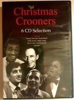 Christmas Crooners DVD 6 CD Selection, Inc Frank Sinatra Bing Crosby Dean Martin