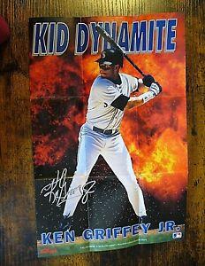"""MLB - Kellogg's 1993 Poster (9"""" x 13"""") - Ken Griffey Jr. (Kid Dynamite) - NEW"""
