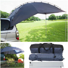 Single-layer Waterproof Cloth SUV Outdoor Camping Canopy Ledger Tent Blue-gray