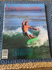 1993 Vintage Longboarder Surfing Magazine Volume 2 Number 1 Christmas Offerings