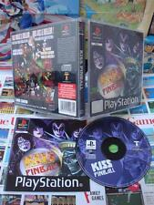 Playstation PS1:Kiss Pinball [TOP FLIPPER & 1ERE EDITION] COMPLET - Fr