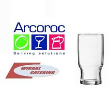 Arcoroc Campus Stackable  10ozGS 1/2 Pint Beer Glasses 6 Glasses