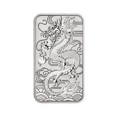 1 oz Dragon Rectangular Drache 1 AUD Perth Mint Australia 999.9 Münzbarren