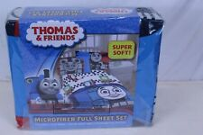 Thomas & Friends 4 Piece Microfiber Full Size Sheet Set