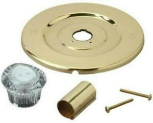 BrassCraft Polished Brass Moen Tub/Shower Faucet Trim Kit for Chateau  #SK0231