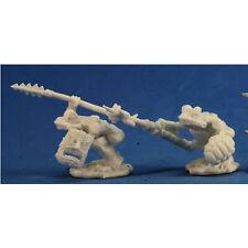 RPG Miniatures Reaper Minis Dark Heaven Bones: Squog Warriors (2)