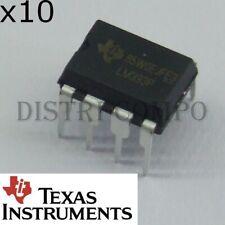 LM393P Comparateur double DIP-8 Texas RoHS (lot de 10)