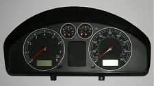 Vw sharan MK2 2.0 2000 03 chrome speedo horloge cluster gauge pod unité 7M3 920 900