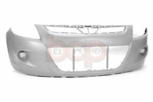 HYUNDAI i20 2009 – 2012 FRONT BUMPER WITHOUT FOG HOLE PRIMED  BRAND NEW