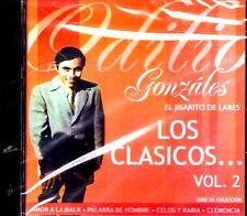 """ODILIO GONZALEZ - """"EL JIBARITO DE LARES"""" - LOS CLASICOS VOL.2 - EXITOS / CD"""