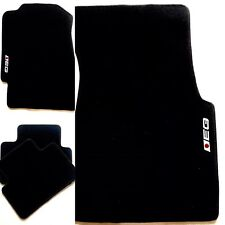 4 EG BLACK CARPET SET 92-95 CIVIC 2DR 3DR 4DR DX CX LX EX SI BLACK FLOOR MATS
