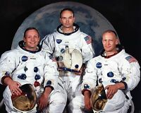 NASA Apollo 11 Crew Neil Armstrong Buzz Aldrin Michael Collins - New 8x10 Photo
