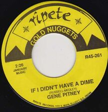 """GENE PITNEY - If I Didn't Have A Dime 7"""" 45"""