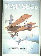 RAF SE5a  - WINDSOCK  DATAFILE  SPECIAL - new