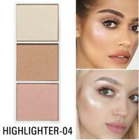 4 Colors Highlighter Palette Makeup Face Contour Powder Bronzer Make Up Blusher