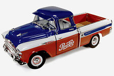 1957 Chevrolet Cameo Pick Up PEPSI truck 1:18 Auto World 207