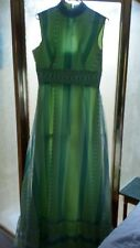 Vintage ANGELAIR By MONIKA Fully Lined Long Dress Women's Size 10