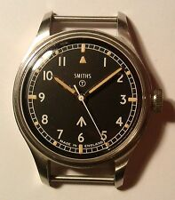 VGC British Military Smiths W10 1969 Army/Navy/RAF Vintage Mechanical Hack Watch