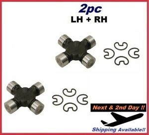 For CHEVROLET GMC Universal Joint SET Rear KIT MOOG 254