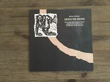 """Depeche Mode – Shake The Disease 12"""" Special Edition EP UK Mute – L12 BONG 8"""
