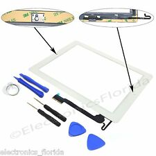 Replacement Digitizer Touch Screen Glass For the ipad 4 4th white Tools Adhesive