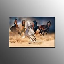Framed Canvas Print Horse Picture Poster Modern Painting Wall Art for Home Decor Horse-3