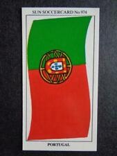 The Sun Soccercards 1978-79 - Portugal - Flag of Portugal #974