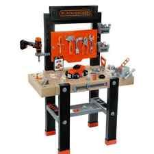 Black & Decker Kids Work Bench Tools Play Educational Toy Set Children Role Boys