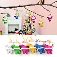 6PCS Festival Christmas Santa Claus Ornaments Tree Hanging Party Home Decor New